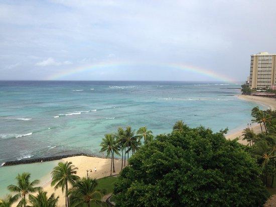 Aston Waikiki Circle Hotel : View from my room!