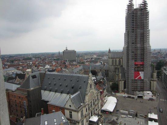 Belfry and Cloth Hall (Belfort en Lakenhalle): View from the Belfry