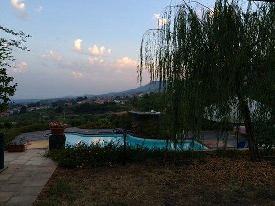 Villa Rosa  Etna Bed & Breakfast: Panorama