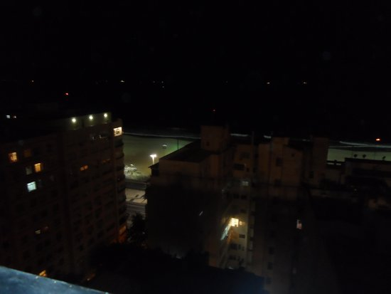 Windsor Palace Hotel: view from rooftop at night