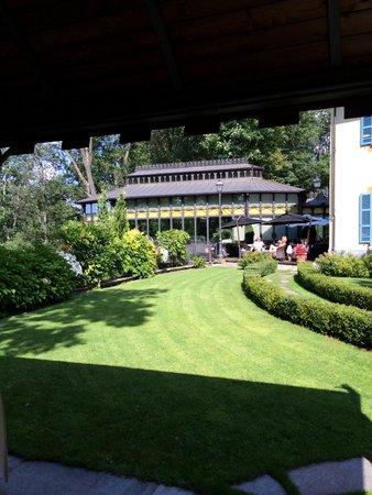 Hotel Villa Beccaris: Spazio esterno