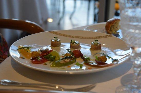 La Vague d'Or: Fabulous meal at Vague d'Or