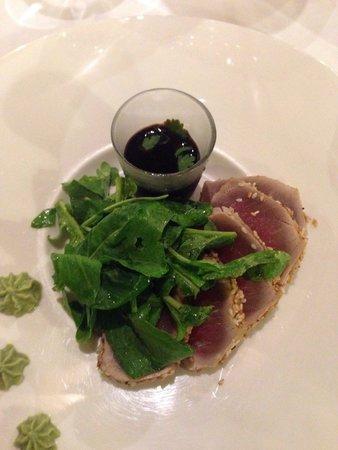 Iguane Cafe: Tataki bien préparé