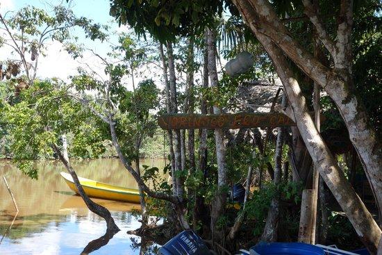 Orinoco Eco Camp: entrée du camp