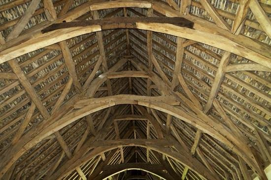 Tithe Barn: The roof is superb