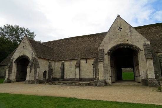Tithe Barn: the two huge doors