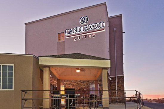 Candlewood Suites Fort Stockton: Hotel Exterior