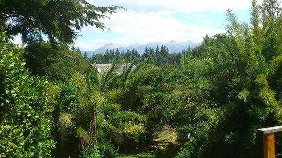 Tillka- Casas de Montaña: Vista a las montana