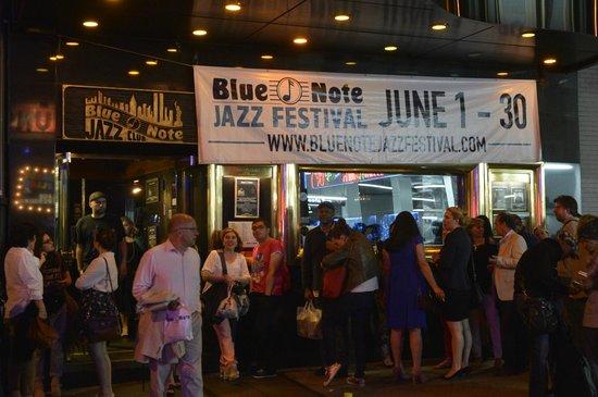 Blue Note : Esperando entrar
