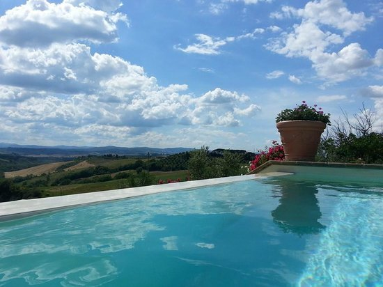 Agriturismo Fattoria Armena: View from the pool