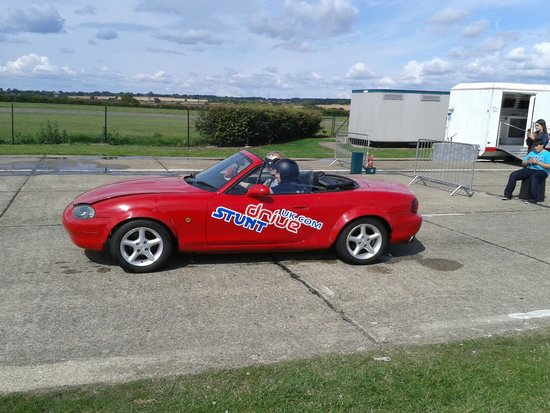 North Weald, UK: Ready for donuts!!