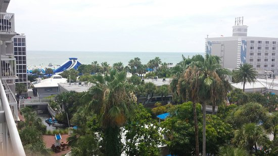 TradeWinds Island Grand Resort: The view from our room.