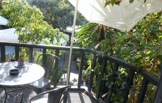 S. Nikolis Hotel & Apartments: Balcony