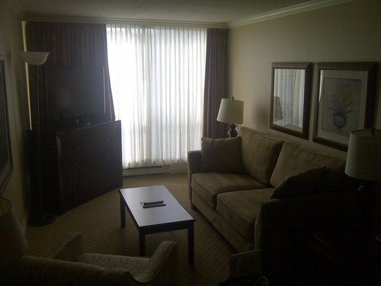 Best Western Plus Ottawa Downtown Suites: Living area