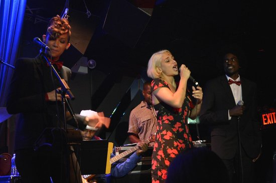 Blue Note : Cantantes