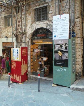 Osteria A Priori: il locale da fuori