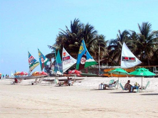Pousada Som das Ondas: La plage