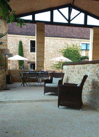 Hotel La Villa Romaine : Le bar