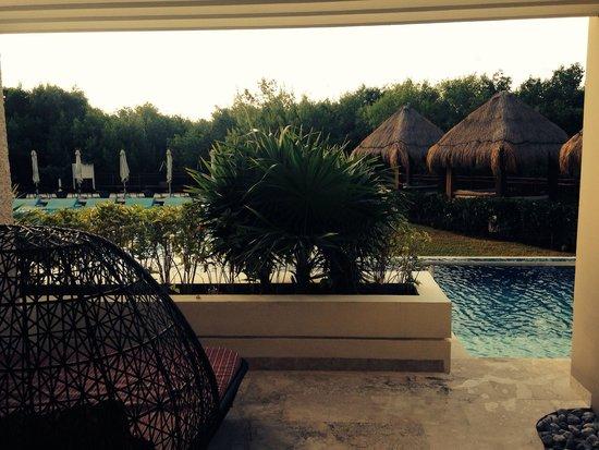 Paradisus Playa del Carmen La Perla: SwimUp Suite Royal Service, acceso privado a la piscina