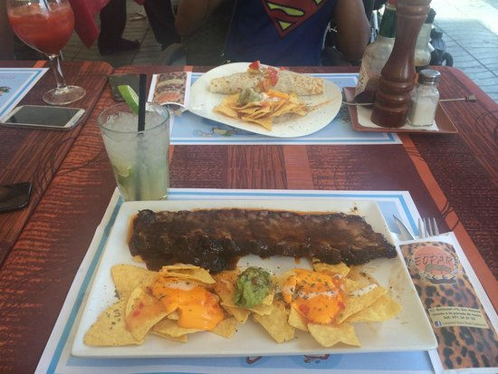 Hotel Piscis: Tex Mex Ribs with Nachos