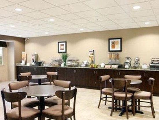 Microtel Inn & Suites by Wyndham Mansfield: Breakfast Area