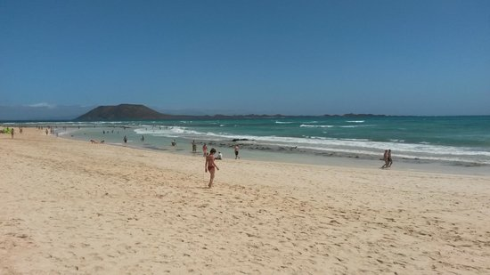 Corralejo Dunes: Dietro ci sono le dune