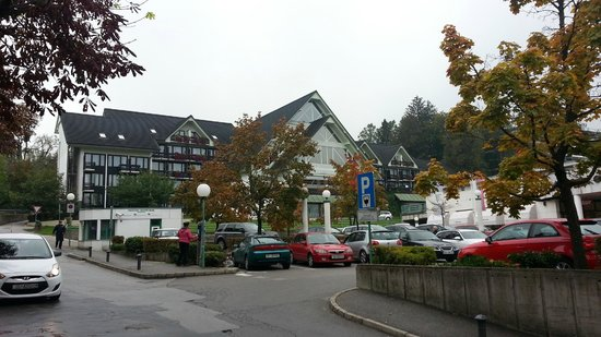 Golf Hotel Bled: Vista