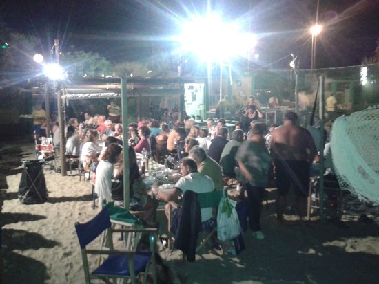 Viserbella, Italy: cena in compagnia