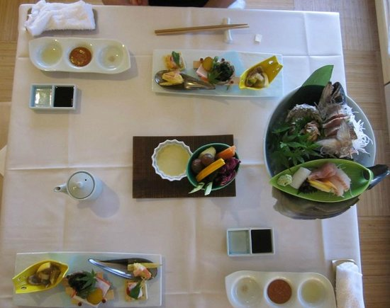 Private Hotel & Spa restaurant Shinra: First course
