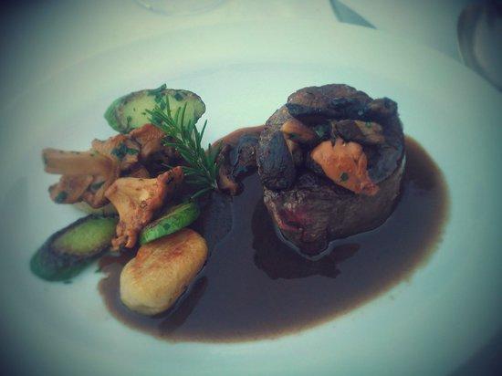 Restaurant Alain Llorca: Hum.....