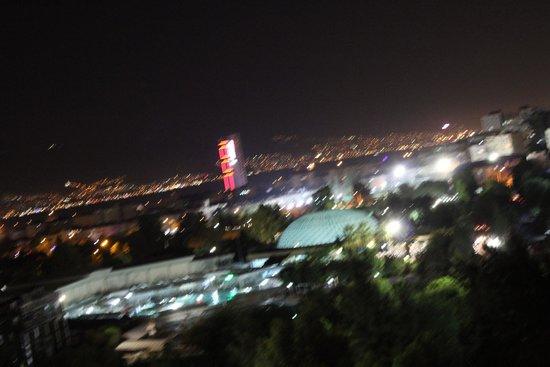 Kaya Izmir Thermal & Convention: View towards city center