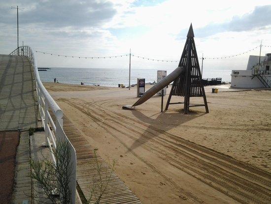 Hesperia Del Mar: spiaggia