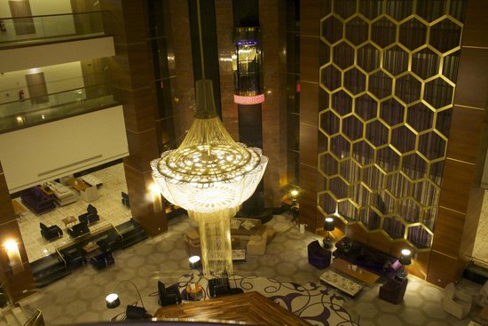 Kaya Izmir Thermal & Convention: View from the elevator
