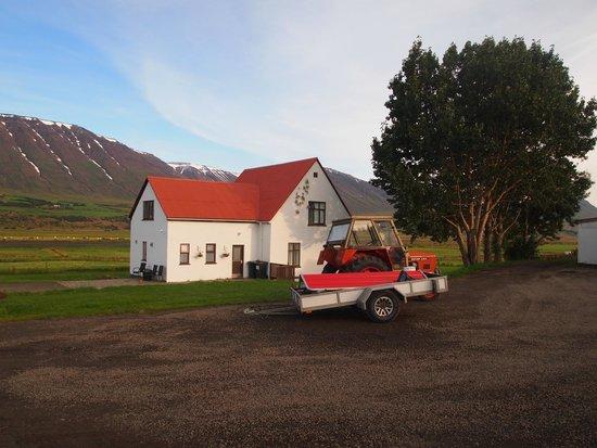 Hrafnagil Guesthouse: The house