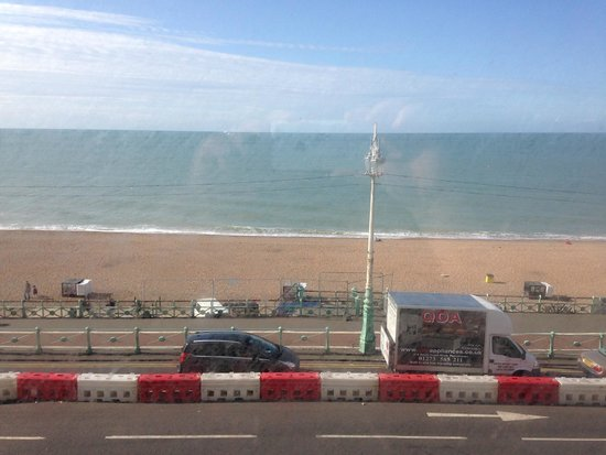 Umi Brighton Hotel: view from room facing out