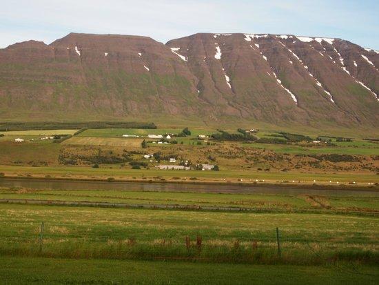 Hrafnagil Guesthouse: View