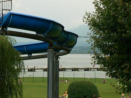 BEST WESTERN Aquakub : vue de la terrasse de la chambre