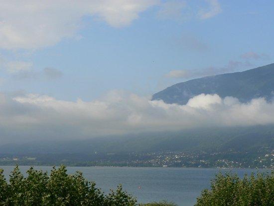 BEST WESTERN Aquakub : Vue de la terrasse panoramique du restaurant