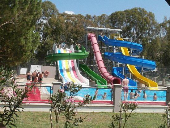 Kustur Club Holiday Village : vu sur les tobboggans