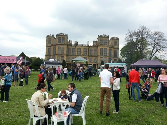 Hardwick Hall and Gardens: food festival at hardwick hall