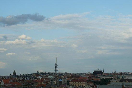 angelo by Vienna House Prague: vue du 7e étage