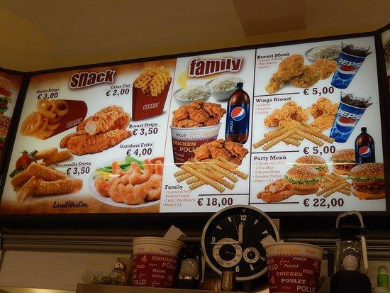 halal vittorio faith - elenco panini