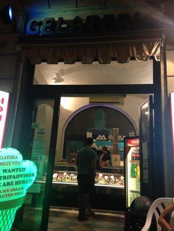 Gelateria La Dolce Vita : Great stop for an evening gelato