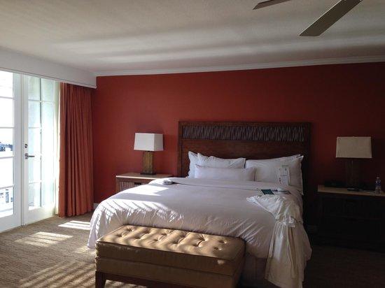 Margaritaville Key West Resort & Marina: 部屋からテラスに出るとマリーナが目の前