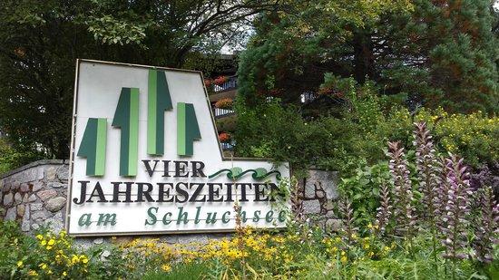 Vier Jahreszeiten am Schluchsee: Arrivée hôtel