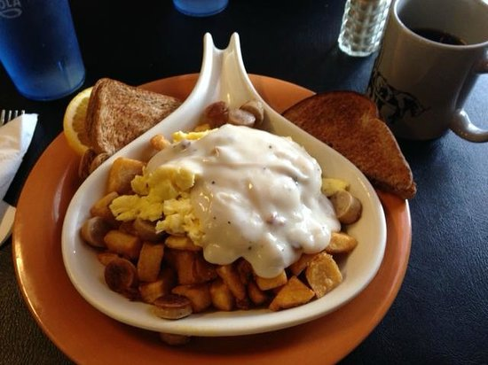 Woodshed Cafe : Country Skillet Breakfast