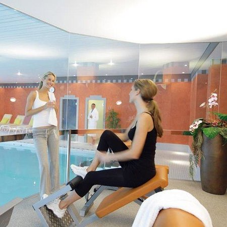 Lindner Grand Hotel Beau Rivage: Fitness