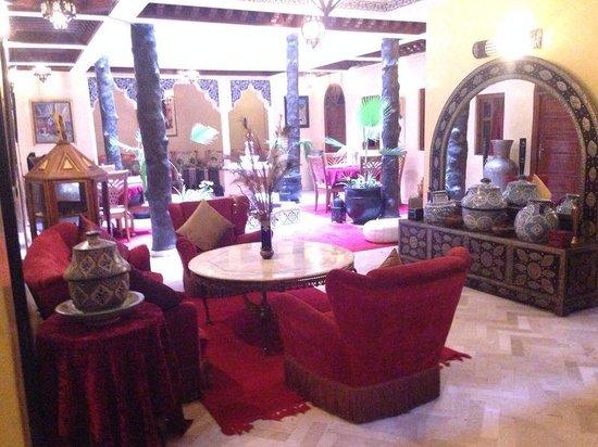 Riad Hamdane et SPA : Ryad patio
