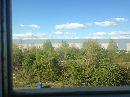 Premier Inn St. Neots (A1/Wyboston) Hotel: view of kath kidson factory from hotel window