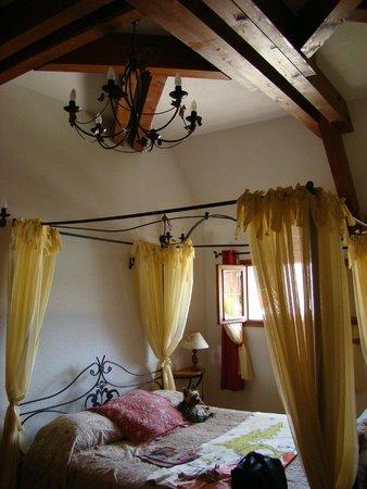 Le Clos de la Vouge : Chambre romantique
